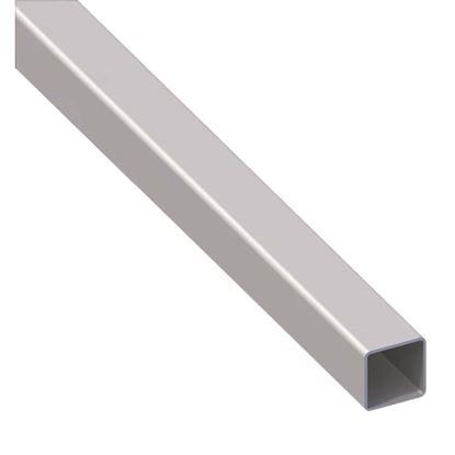 Immagine di Tubo quadrato, acciaio laminato a freddo, 25x25x1 mm, 1 mt