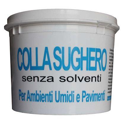 Immagine di Colla per sughero, per ambienti umidi e pavimenti, 1 kg