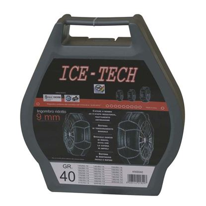 Immagine di CATENE NEVE 9 mm GR  30 ICE TECH