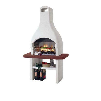 Immagine di Barbecue Palazzetti Oslo 2 carbonella/legna 110x71xh210 cm