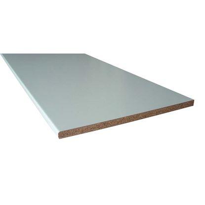 Immagine di Top Cucina, 205x60 cm, spessore 28 mm, bianco