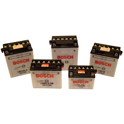 Immagine di Batteria moto Bosch, M4F25, 12 V-9 Ah, spunto 80 A, polarità sx