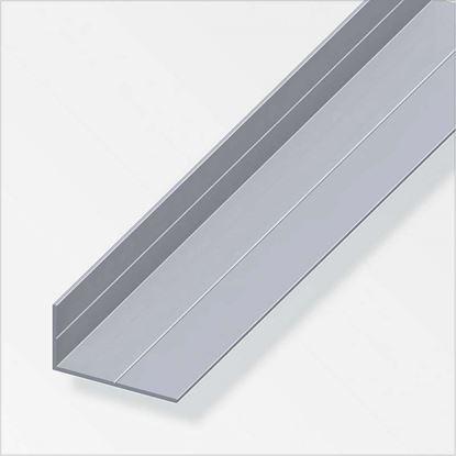 Immagine di Angolare alluminio naturale, 2,50 mt, 7,5 x 12,5 mm