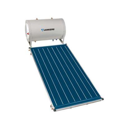 Immagine di Kit solare 1 collettore, FCC-2, 200 lt, staffaggio sopra tetto, vaso d'espansione 3 lt, liquido termovettore