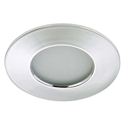 Immagine di Faretto LED 5W, incasso, Ø7,5 cm, IP44, 400 lumen, cromo